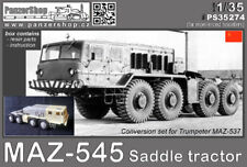 MAZ-545 Saddle Tractor CCCP resin conversion 1/35 PanzerShop Trumpeter PS35274