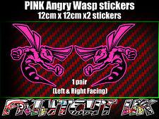 Par De Rosa Angry Wasp Pegatinas Bicicleta Casco Portátil Coche Scooter Vespa Hornet