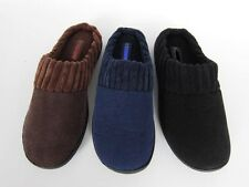 New man house slippers comfortable cork Suede black navy brown 7 to 12 on sale