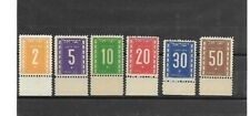 Israel Stamps 1949 Postage due full tab set m.n.h.