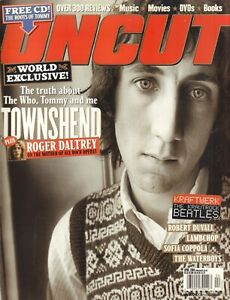 MAGAZINE UNCUT 2004 # 83 - PETE TOWNSHEND(COVER)/KRAFTWERK/LAMBCHOP/MIKE SCOTT