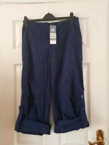 ADIDAS Navy Blue Cargo Trousers BNWT - Size 14