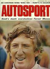 Autosport September 10th 1970 *Jochen Rindt Obituary & Italian Grand Prix*