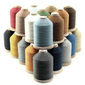 Jean Thread Tex 60 - 750 Yards, Heavy Cotton Covered Polyester - Pick Color