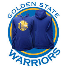 NBA Golden State Warriors Basketball adidas Blue Men's Small Comfortable Hoodie