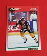 1991/92 Score Hockey Cam Neely Card #6***Boston Bruins***