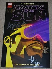 SDCC 2017 EXCLUSIVE MARVEL MASTERS OF THE SUN LIMITED SIGNED POSTER