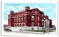Early 1900s Auditorium, Eau Claire, WI Postcard