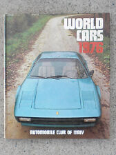 World Cars 1976 Automobile Club of Italy