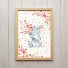 Deko-Bilder & -Drucke mit Elefanten fürs Kinderzimmer günstig kaufen ...