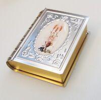 Rosary / keepsake small gift box First Holy Communion