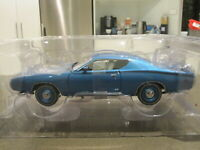 1/18 39466 ERTL AUTHENTICS 1971 DODGE CHARGER SUPER BEE BLUE *NEW*