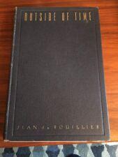 Signed Outside Of Time - Jean Du Bouillier , Hard Cover 1946 Red Rose Farm Poet