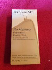 BOXED NEW Perricone MD No Makeup Foundation SPF30 Light Medium 30ml /1 .fl.oz