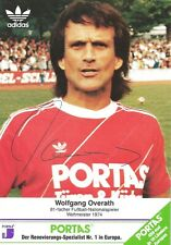 FC Köln Weltmeister 1974 Vize1966 Wembley TAXOFIT# Autogramm Wolfgang Overath 1