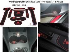 VW POLO 2010 - 2013  INTERIOR DASHBOARD MAT GATE PAD TRIM SET