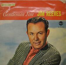"""JIM REEVES - GENTLEMAN JIM 12"""" LP (P733)"""