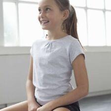 Camiseta de niña de 2 a 16 años de algodón orgánico