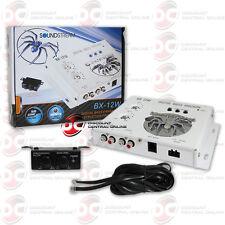 Soundstream Bx-12W Car Audio Digital Bass Processor W/ Bass Knob White Bx-12