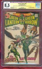 Green Lantern 82 CGC SS 8.5 Neal Adams Harpies Classic Bernie Wrightson 1970