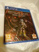 Sword Art Online Fatal Bullet PS4 New Sealed UK PAL Game Sony PlayStation 4 RPG