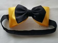 Jemlana's handmade Emma wiggle bow(Elastic headband)for Toddlers..