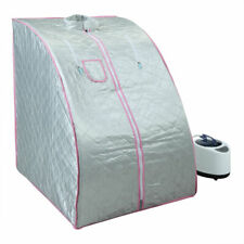 2L Portable Home Steam Sauna Spa Tent Slimming Loss Weight Detox Therapy w/Chair