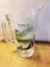 Dr. McGillicuddy's GLASS PITCHER RARE MENTHOLMINT SCHNAPPS 85 FREE SHIP TRAK US