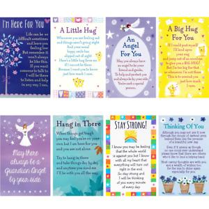 SUPPORT WALLET CARD Heartwarmers Keepsake Sentimental Comfort Hope Cares Help💕