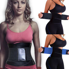Sport Waist Trainer Weight Loss for Women Sweat Thermo Wrap Body Shaper Belt Gym