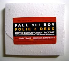 Fall Out Boy Folie a Deux Limited Edition *Green* Package Recycled NEW OOP /1000