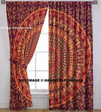 Indian Ombre Mandala Cotton Hippie Tapestry Door Cutain Decor Window Curtains