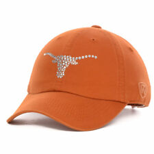 89129ef1b06 Texas Longhorns NCAA Women s Butterfly Sequins Hat Cap Ladies Adjustable  Strap T