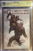 Wolverine #1 CBCS 9.8 Signed Inhyuk Lee  MillGeek/@COMICTOM101 Exclusive