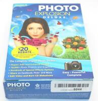 Nova 41327 Photo Explosion Photo Editing Software Deluxe V 5.0 for XP Vista 7 8