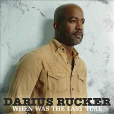 DARIUS RUCKER - WHEN WAS THE LAST TIME * NEW CD