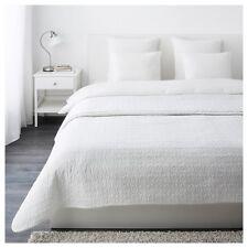 IKEA ALINA Tagesdecke + 2 Kissenbezüge weiß 260x280 cm Doppelbett weich NEU&OVP