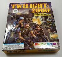 "Twilight 2000 DOS VGA/IBM Computer Game Used 5.25"" floppy & 3.5"" disc"