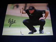 Phil Mickelson Autographed Golf 11x14 Photo Masters/ JSA