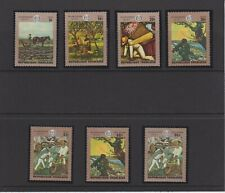 Togo Paintings 50th Anniversary of L'O.I.T. Set MNH Scott 717-721, C124-C125