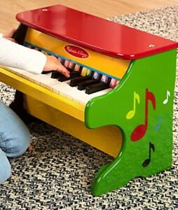Melissa and Doug Learn To Play Piano 25 Keys Wooden Model # 1314
