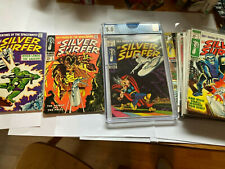 Silver Surfer 2,3,4 (CGC 5.0) , 5-18  - (17 issue lot) - only missing issue 1