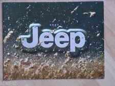 Jeep 2002 (Wrangler, Liberty, Grand Cherokee) Prospekt / Brochure, USA, 7.2001