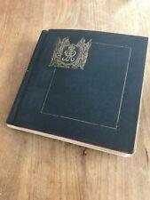CORONATION 1937 KGVI Omnibus in RARE Selfridge album set + first day covers