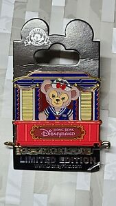 Rare Hong Kong Disneyland Shelliemay Train Pin LE300 11 of 12 HKDL