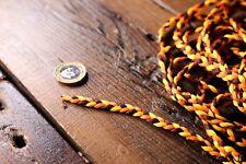 5 M Naranja Amarillo Brown recorte trenzado cinta amarilla cinta decorativa de costura Craft
