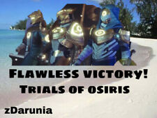 Destiny 2 - Trials of Osiris (Flawless Victory) Xbox,PS4,PC 1 Day Guaranteed!!!