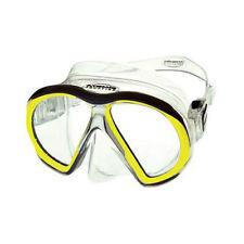 Atomic Aquatics subframe mask scuba dive equip snorkel gift diver Reg Yel/clear