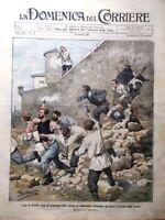 La Domenica del Corriere 14 Luglio 1907 Tomba Garibaldi Caprera Nigra Decoration