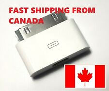 Micro USB Female to 30pin Male Charger Adapter For iPad/iPod/iPhone 4s. Canada.